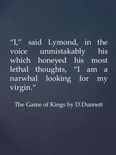 lymond quote