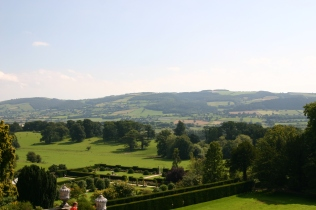 View from Powis terraces