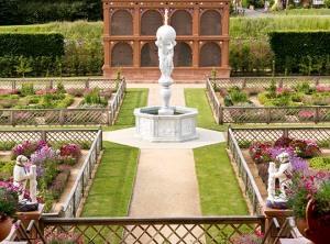 Recreated garden (