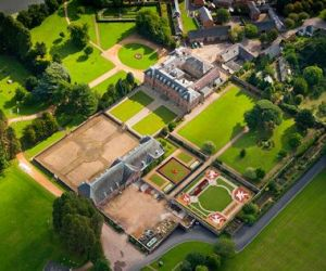 Tredegar House, Gardens and Park Aerial view Newport South Towns and Villages