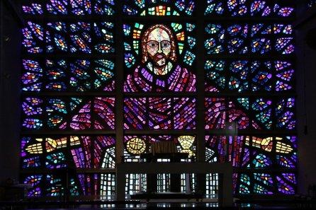 buckfast abbey glass