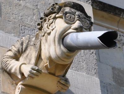 Chichester gargoyle
