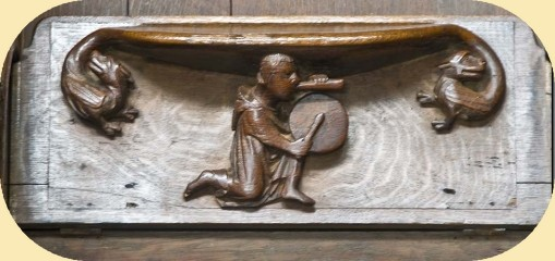 Exeter cathedral misericord