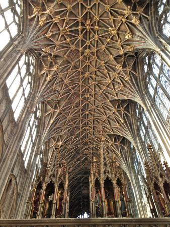 Gloucester cathedral vault