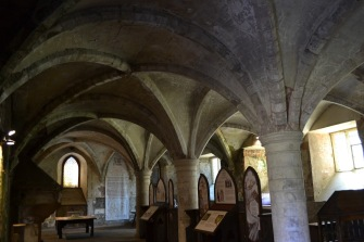 Groin vault - Rufford Abbey
