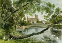 Jedburgh abbey paintings
