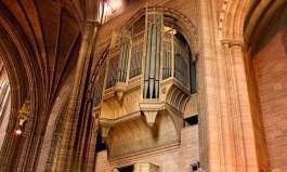 Liverpool pipe organ