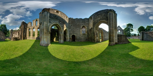 Valle crucis abbey2