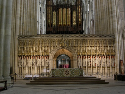 york organ and screen