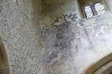 haddon hall frescoes